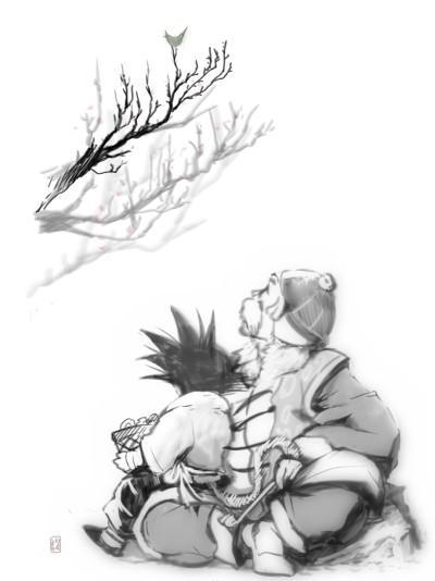 黄鶯睍睆(こうおうけんかんす)